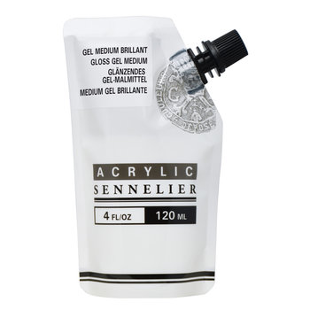 SENNELIER Medium gel brillant - doypack 120 ml