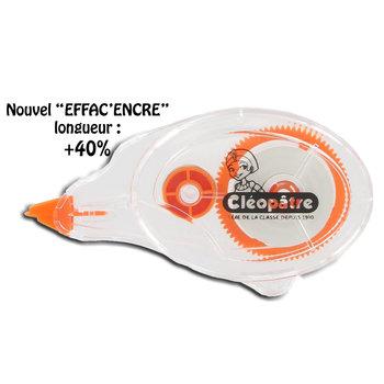 CLEOPATRE Rolleur Correction Blanc 8m /4,2 mm