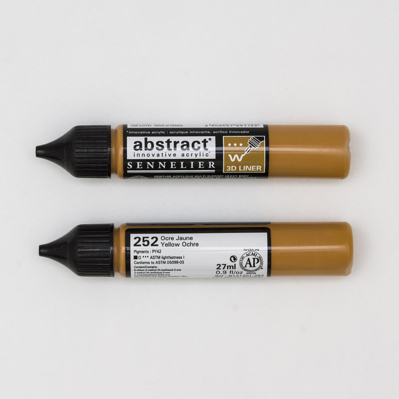 SENNELIER Abstract liner 27ml Ocre Jaune