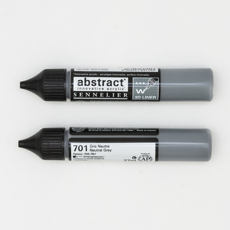 SENNELIER Abstract liner 27ml Gris neutre