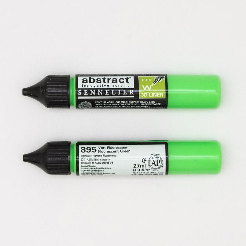 SENNELIER Abstract liner 27ml Vert fluo