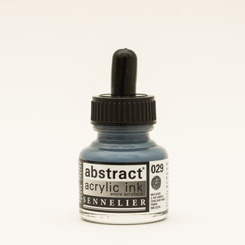 SENNELIER Abstract encre 30ml Iridescent argent
