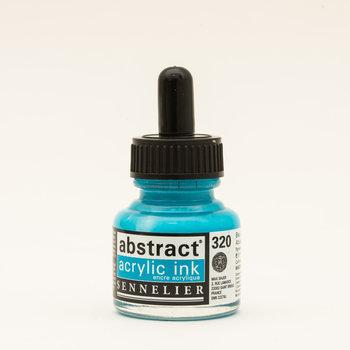 SENNELIER Abstract encre 30ml Bleu azur