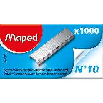 MAPED Boîte de 1 000 agrafes N°10