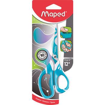 MAPED Ciseaux ZENOA FIT 15 cm. coloris assortis