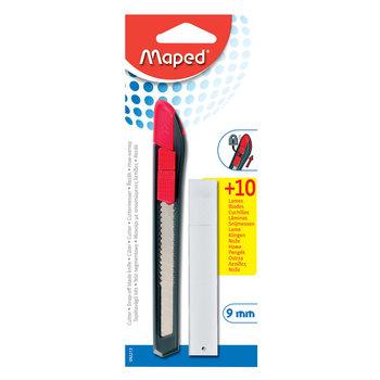 MAPED Cutter START plastique 9 mm + 10 lames. en blister