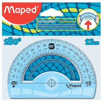 MAPED Rapporteur 180° base 12 cm - Incassable