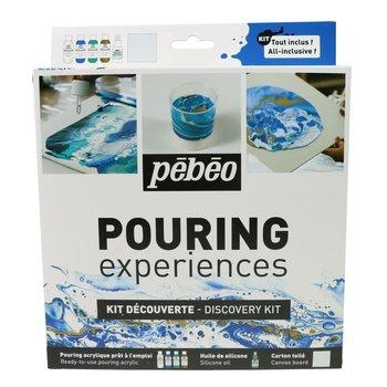 PEBEO Kit découverte Pouring  4x59ml + Silicone 50ml
