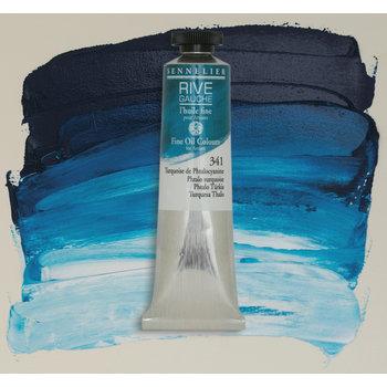 SENNELIER Rive Gauche Huile fine 40ml - Turquoise de Phthalocyanine