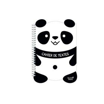 QUO VADIS Cahier de texte S Kawaii 17x22cm panda