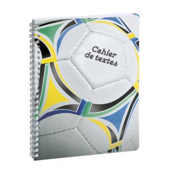 EXACOMPTA Cahier de textes Sports ballon 15x21cm modèles aléatoires
