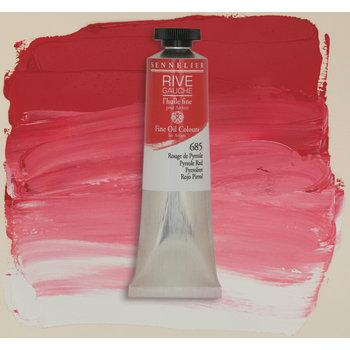 SENNELIER Rive Gauche Huile fine 40ml - Rouge de Pyrrole