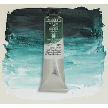 SENNELIER Rive Gauche Huile fine 40ml - Vert de Cobalt