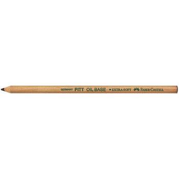 FABER CASTELL Crayon Pitt Oil Base noir très tendre