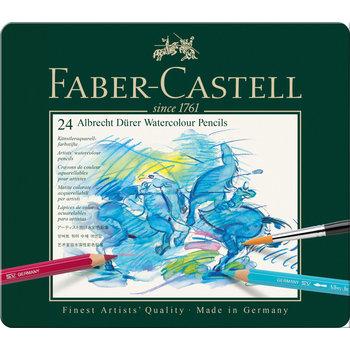 FABER CASTELL Crayons couleur A. Dürer boîte métal 24x