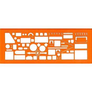 MINERVA Trace symboles Architectographe n° 9 éch. 1/50