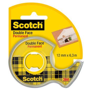 SCOTCH Ruban Scotch® Double Face 12 mm x 6,3 m