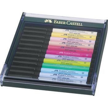 FABER CASTELL Box Pitt Artist Pen B pastel 12x