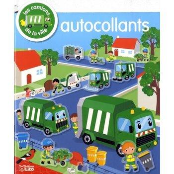 EDITIONS LITO Autocollants mes Véhicules préférés Les camions de la ville