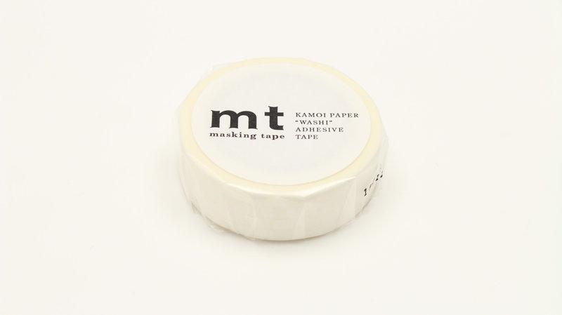 MT MASKING TAPE MT 1P Motif pois blanc / dot white