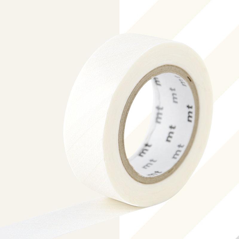 MT MASKING TAPE MT 1P Motif rayures blanc / stripe white