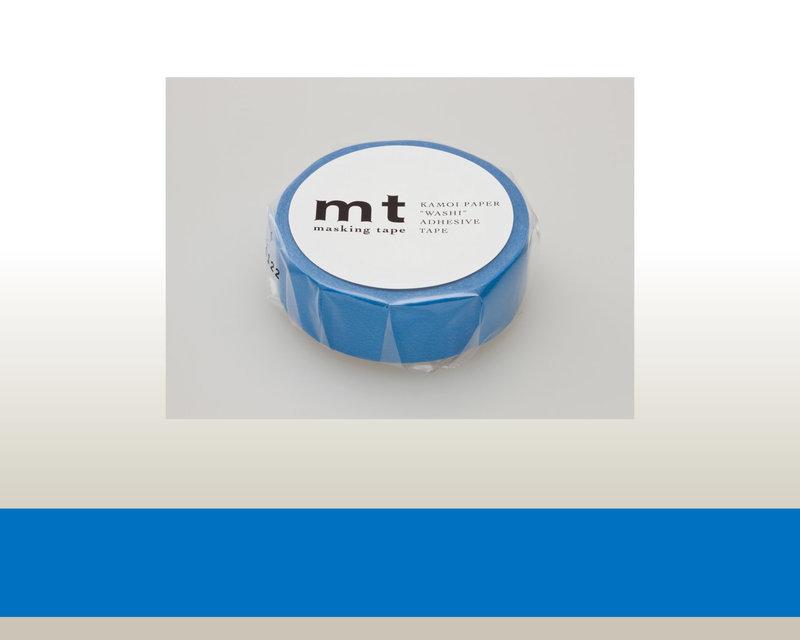 MT MASKING TAPE MT 1P Uni - blue (bleu)