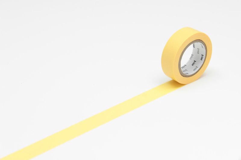 MT MASKING TAPE MT 1P Uni - jaune tamago