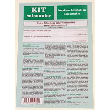 WEBER DIFFUSION Kit meublé saisonnier