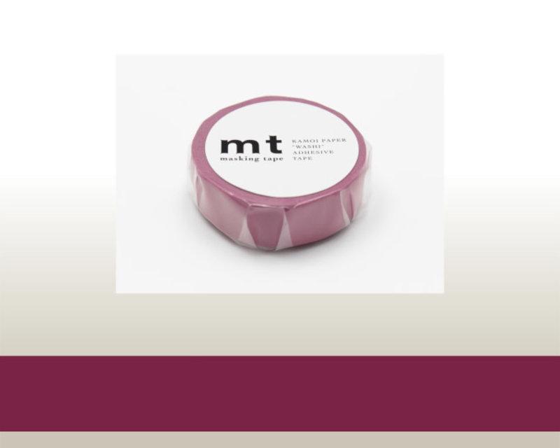 MT MASKING TAPE MT 1P Uni - lie de vin wine