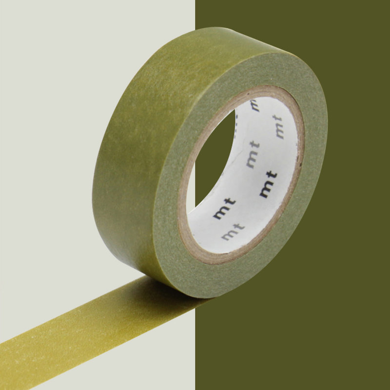 MT MASKING TAPE MT 1P Uni - vert olive uguisu