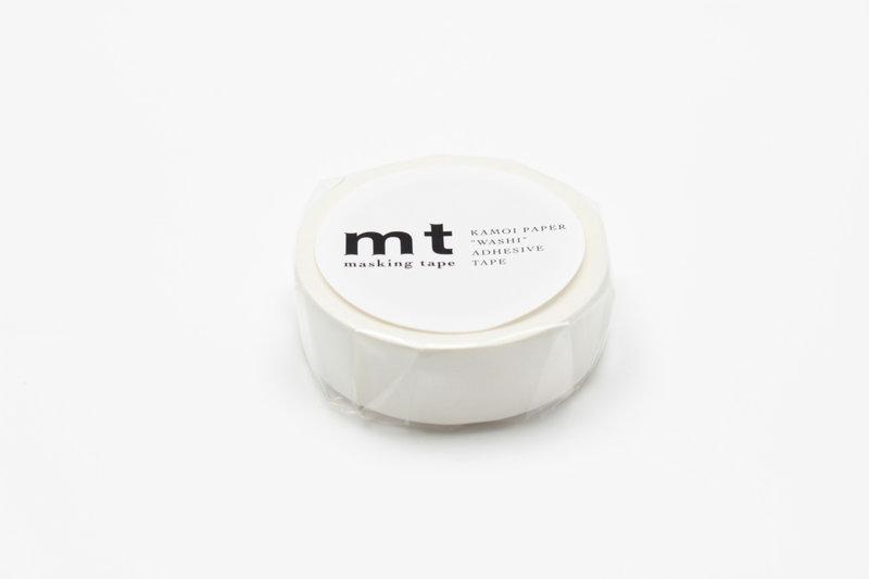 MT MASKING TAPE MT 1P Uni - blanc matte white