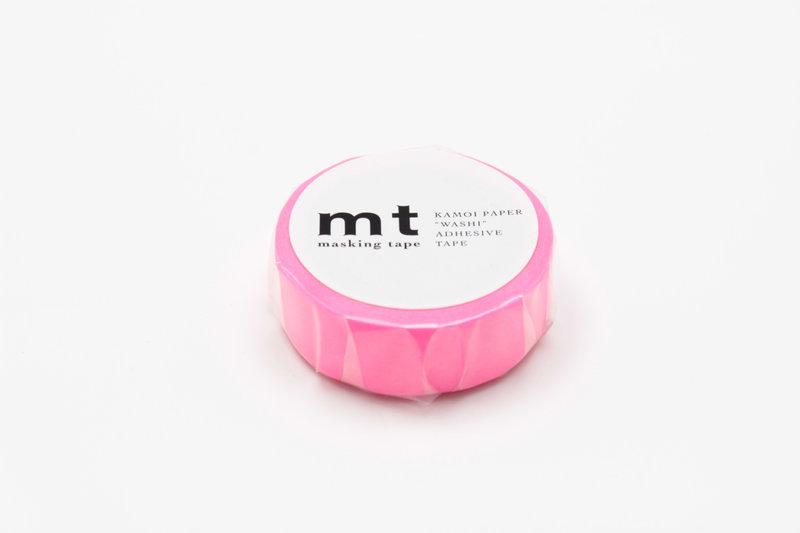 MT MASKING TAPE MT 1P Uni - shocking pink (rose fluo)
