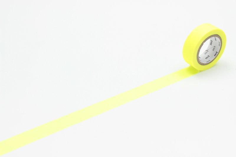 MT MASKING TAPE MT 1P Uni - shocking yellow (jaune fluo)