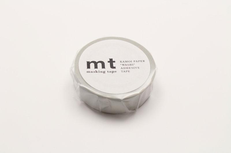 MT MASKING TAPE MT 1P Uni - pastel gris / gray