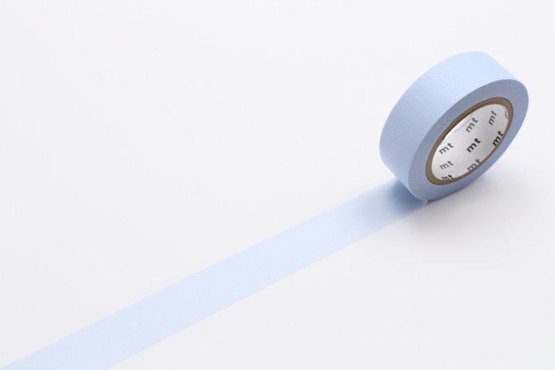 MT MASKING TAPE MT 1P Uni - pastel bleu / blue