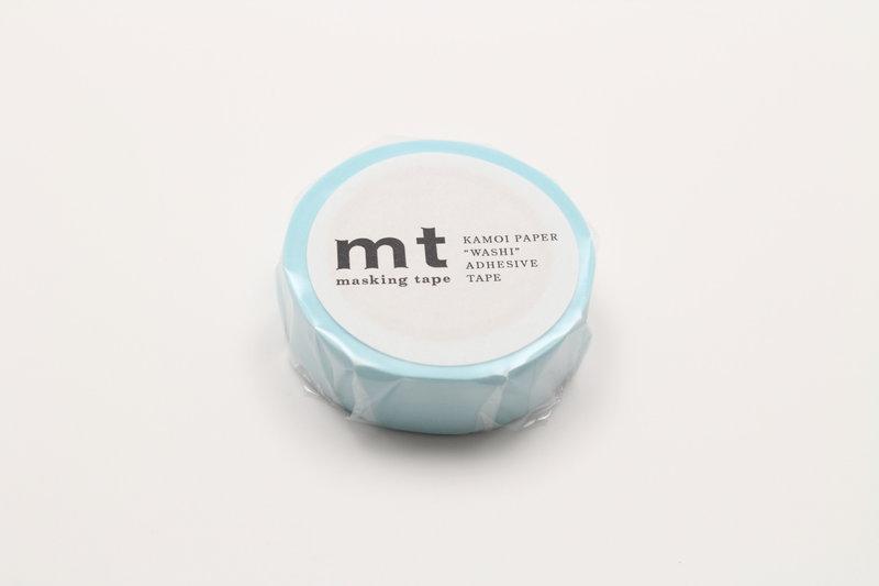 MT MASKING TAPE MT 1P Uni - pastel bleu poudré / powder blue