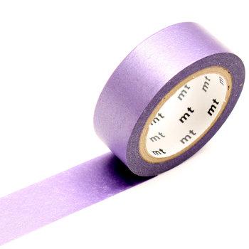 MT MASKING TAPE MT 1P Uni Pearl irisé lilas / lilac - 1,5cm x 7m