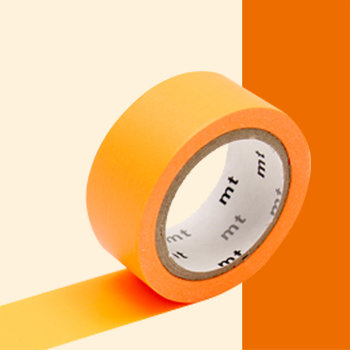 MT MASKING TAPE MT EXTRA-FLUO luminescent orange
