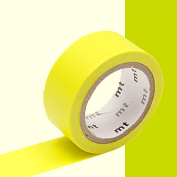 MT MASKING TAPE MT EXTRA-FLUO luminescent jaune / yellow