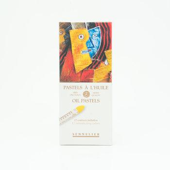 SENNELIER Boîte carton Pastel Huile Initiation 12 Pastels