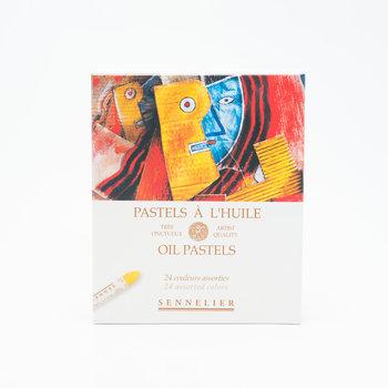 SENNELIER Boîte carton Pastel Huile Universel 24 Pastels