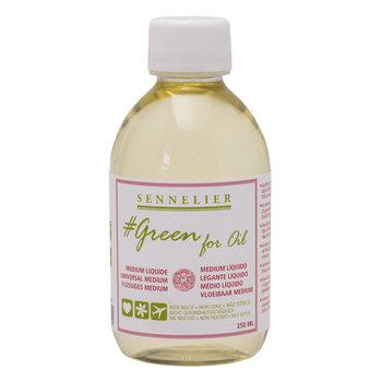 SENNELIER Medium liquide 250ml - GREEN FOR OIL