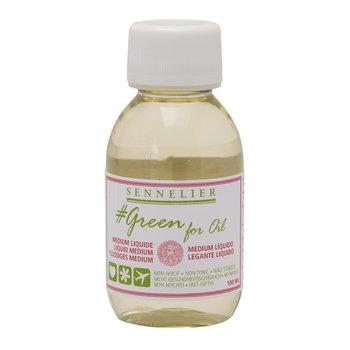 SENNELIER Medium liquide 100ml - GREEN FOR OIL