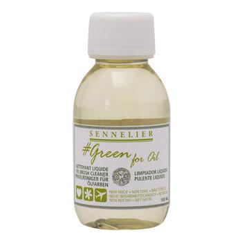 SENNELIER Nettoyant liquide 100ml - GREEN FOR OIL