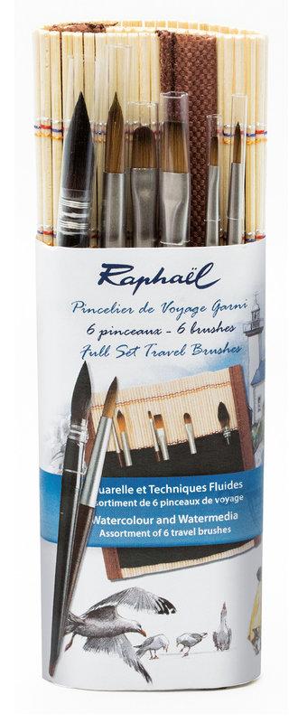 RAPHAEL Pincelier Bambou Plein 16 cm