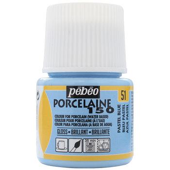 PEBEO Peinture Porcelaine 150 - 45 mL - Bleu pastel