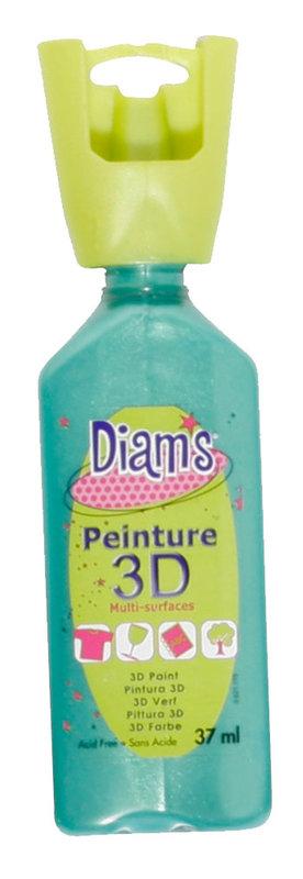 DIAM'S DIAM'S 3D, 37ml, Nacré Vert Feuille
