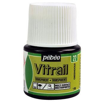 PEBEO Peinture Vitrail transparente - 45 mL - Greengold