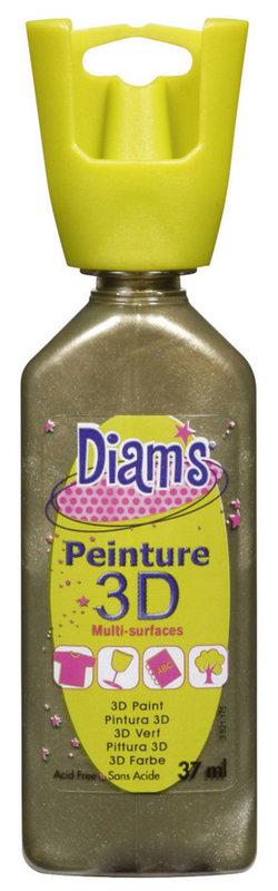 DIAM'S DIAM'S 3D, 37ml, Nacré Bronze