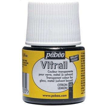 PEBEO Peinture Vitrail transparente - 45 mL - Citron